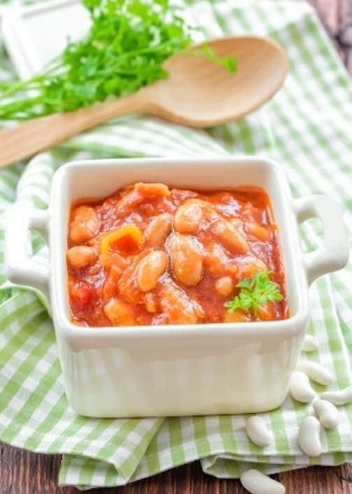Sephardic stewed white beans
