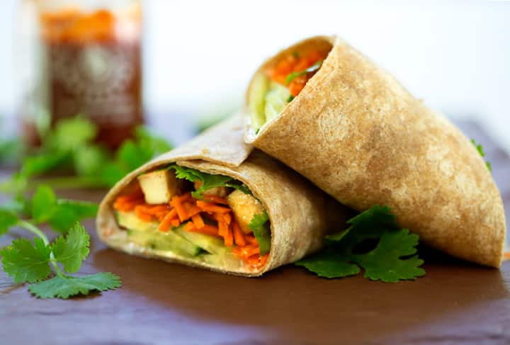 Vietnamese-style recipes, tofu and vegetable wraps by Robin Robertson