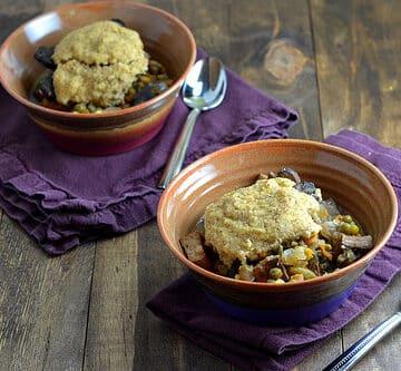 Vegan slow cooker pot pie kathy hester