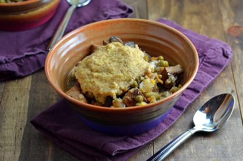 Vegan pot pie - slow cooker
