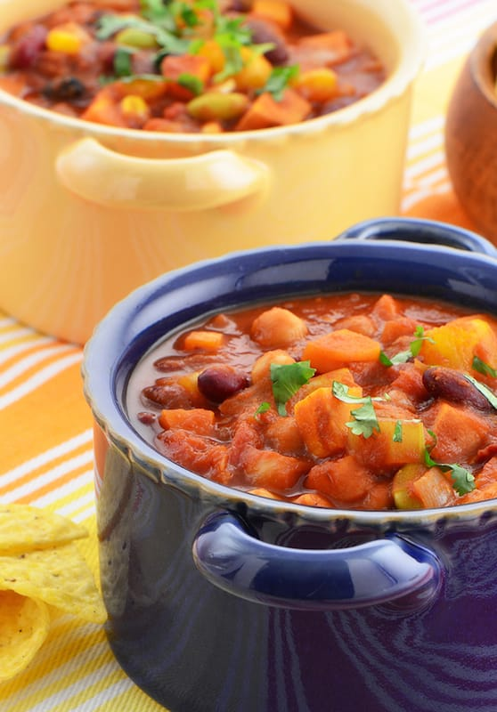 Hominy Vegetarian Chili