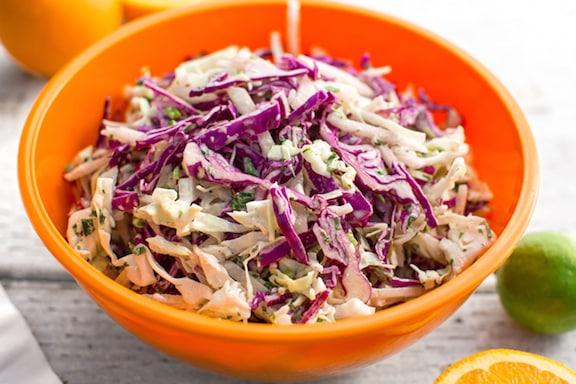 Jicama coleslaw