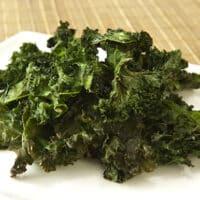 Salt and vinegar kale chips recipe