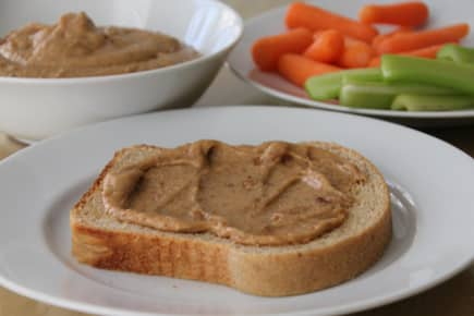 Peanut Butter Dip for Apples or Veggies