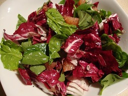 Radicchio and Grapefruit Salad from Speed Vegan by Alan Roettinger