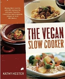 vegan slow cooker by kathy hester