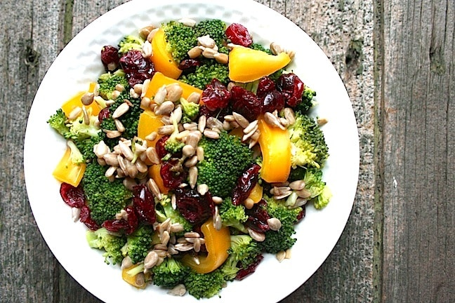 Broccoli Yellow Pep Salad - 5