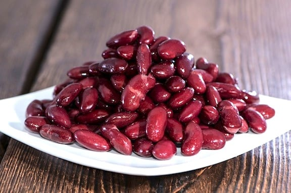 Kidney Beans on a plate