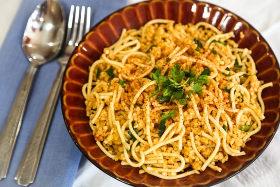 Bulgur with Fine Noodles recipe