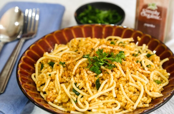 Bulgur with Fine Noodles
