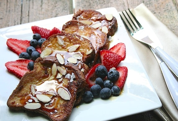 gluten-free vegan French toast recipe