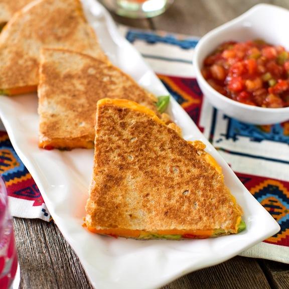Vegan Sweet potato and avocado quesadillas recipe