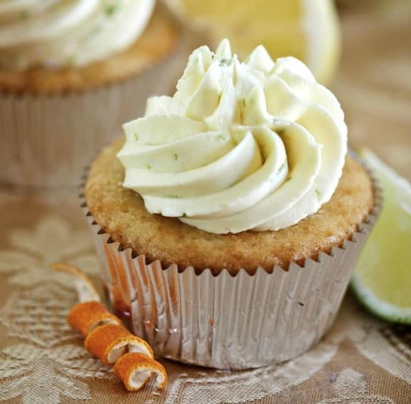triple-citrus cupcakes by hannah kaminsky
