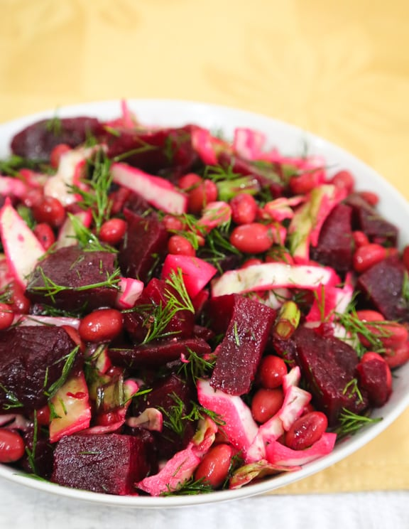 Dilled Red Beets with Pickled Beets