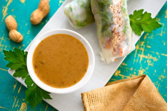 coconut peanut sauce recipe