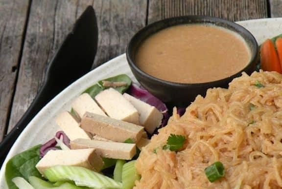 Peanut coconut sauce