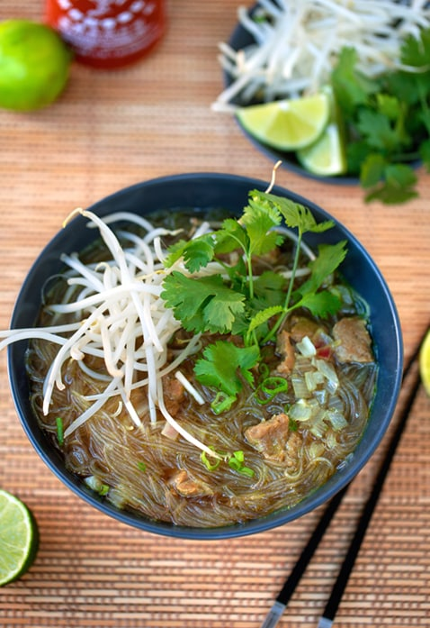 Vegan Pho Bo soup recipe
