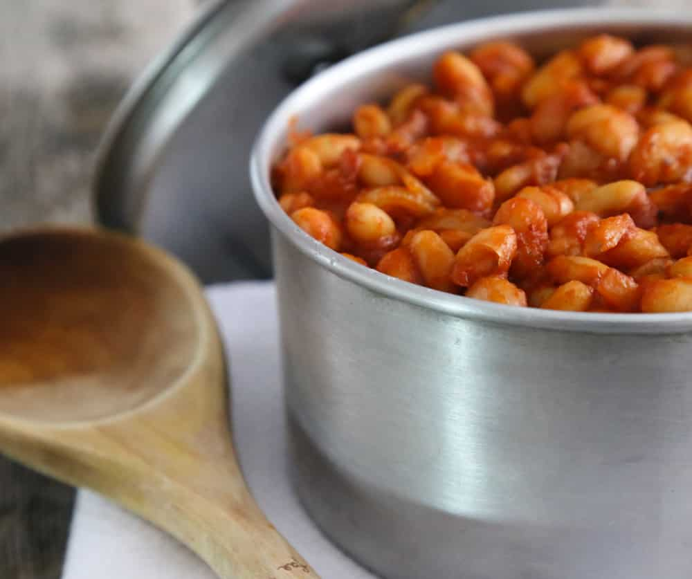 Slow-cooker Boston baked beans recipe by Beverly Lynn Bennett