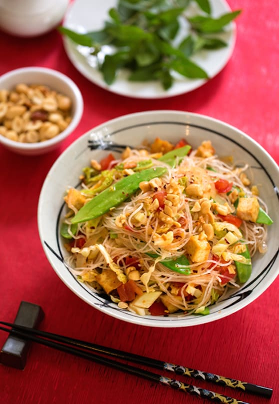 Vietnamese-style bean thread noodles recipe