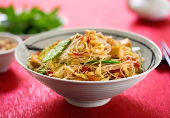 Vietnamese-style cellopphane noodles