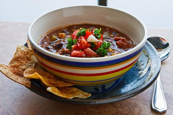 Big Pot of Really Good Vegan Chili