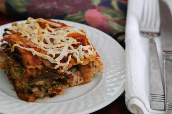 Sephardic Eggplant Matzo Mina recipe
