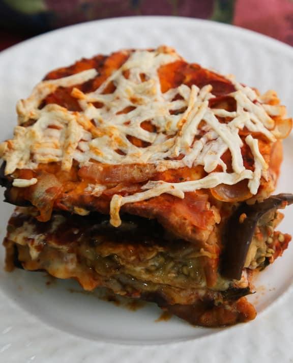 Eggplant Matzo Mina Sephardic recipe