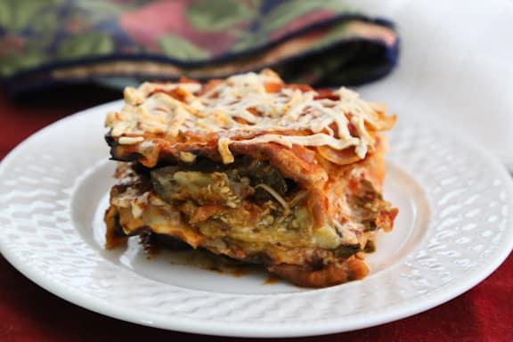 Eggplant Matzo Mina recipe