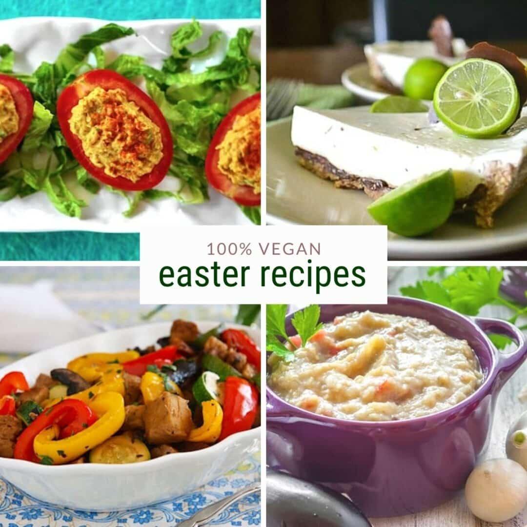 recetas veganas de pascua