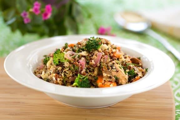 Passover Quinoa Pilaf