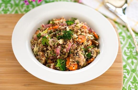 Passover Quinoa Pilaf recipe