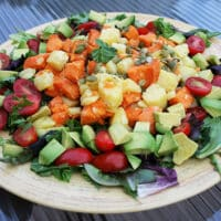 White and sweet potato salad1