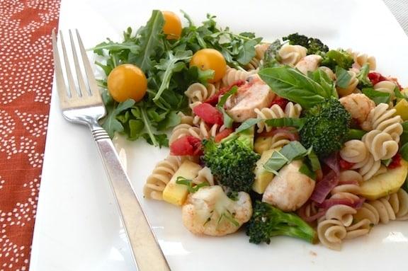 Vegan Pasta Primavera