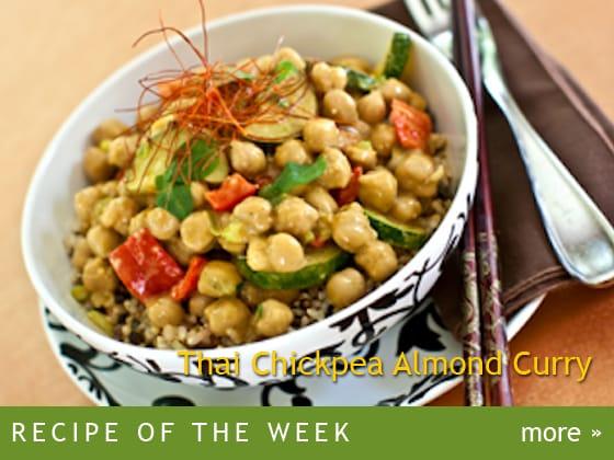 Thai Chickpea Almond Curry
