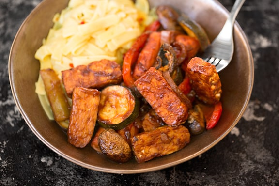 how to cook tempeh vegan