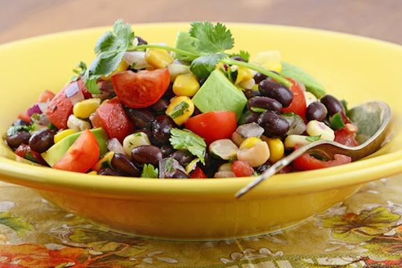 Southwestern Black Bean and corn Salad