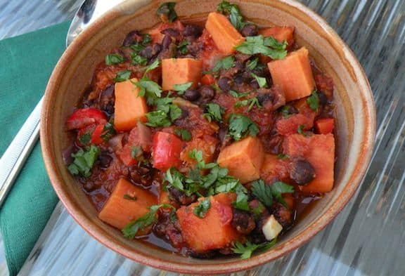 Brazilian-Inspired Black bean stew