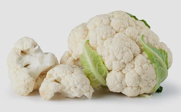 Cauliflower and florets