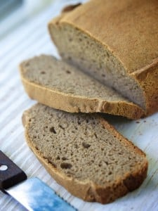 Gluten-free brown bread by Allyson Kramer