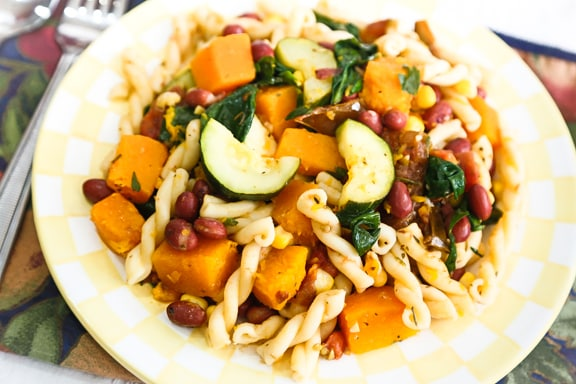 Harvest Medley Pasta with Vegetables