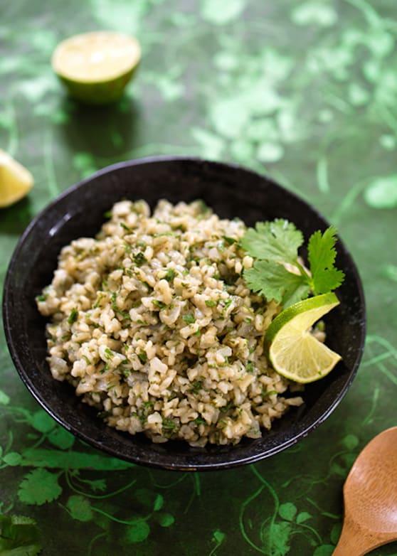 Mexican Green Rice recipe