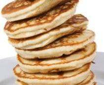 Rice pancakes by nikki goldbeck