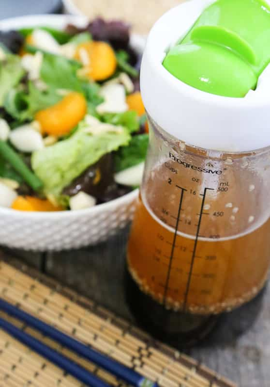 Sesame Salad Dressing Calories Sesame-ginger Salad Dressing