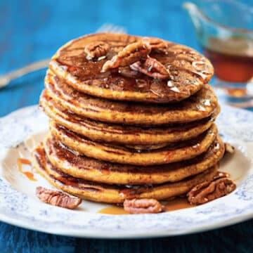 Whole grain pancakes