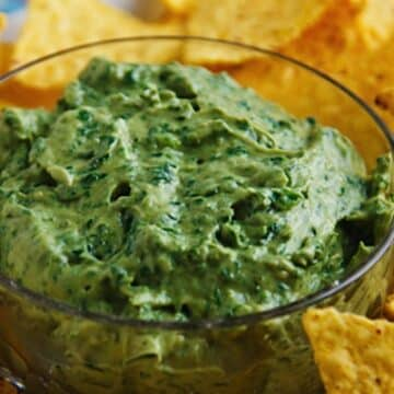 Avocado tahini dip from Wild About Greens