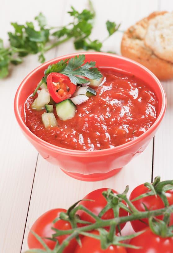 Fresh Tomato Gazpacho recipe