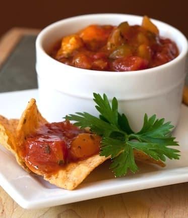 Tomato-Mango Salsa