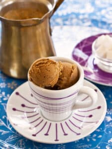 Vegan Turkish Coffee Ice Cream