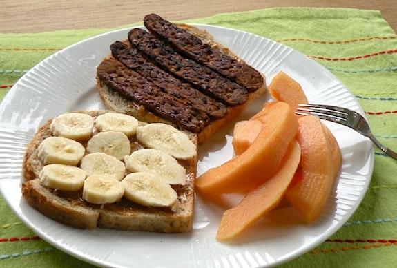Vegan Elvis Sandwich With Tempeh Bacon Vegkitchen