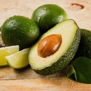 avocados and limes